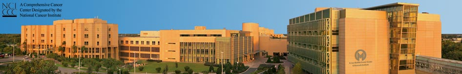Panorama of the Moffitt Cancer Center on the campus of the University of South Florida